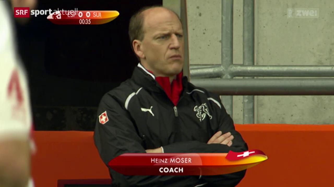 Fussball: Heinz Moser neuer Coach der U21-Nati