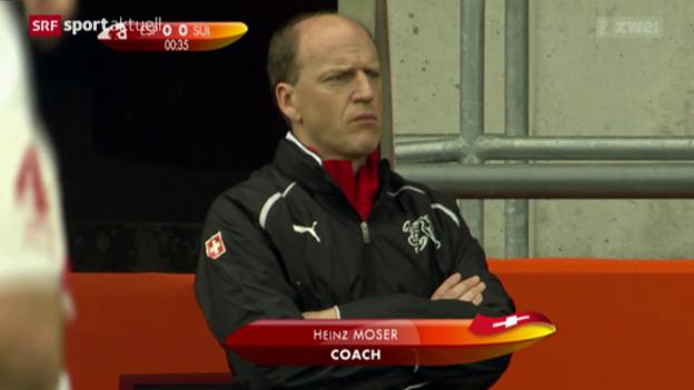 Video «Fussball: Heinz Moser neuer Coach der U21-Nati» abspielen