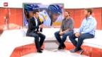 Video «Eishockey: Joe Thornton und Rick Nash im Studio» abspielen