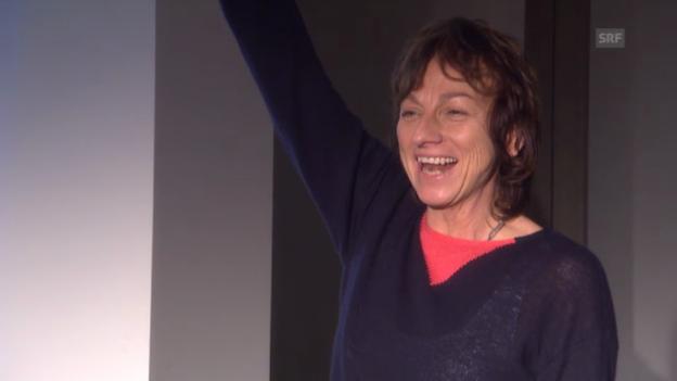 Video «Gianna Nannini singt die Schweizer Nationalhymne» abspielen