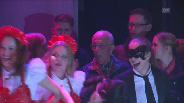 «Takasa» mit Emil Ramsauer an Eurovision-Fan-Anlass in Amsterdam