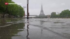 Video «Fluten erreichen Frankreich» abspielen
