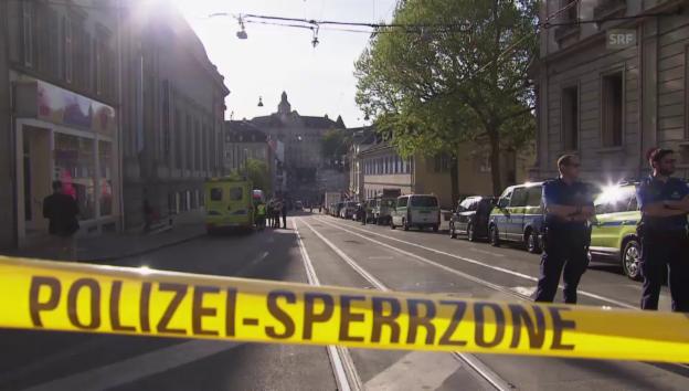 Video «Bombenalarm in Basel» abspielen