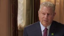 Video «Al Gore – die Galionsfigur im Kampf gegen die Klimakatastrophe» abspielen