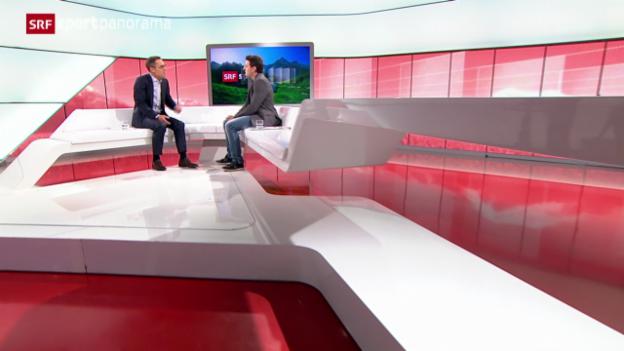 Video «Studiogast: Fabio Leimer, Teil III» abspielen