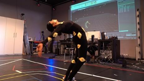 Video «Digitale Choreografie - «Virtual Reality» macht Tanz zum Erlebnis» abspielen