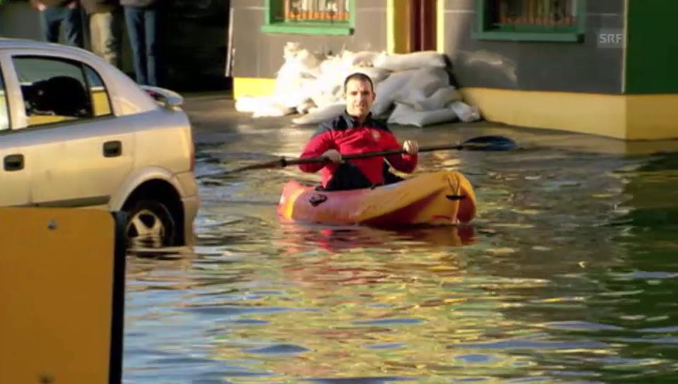 Sturm und Hochwasser in England und Irland (unkomm.)