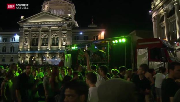 Video «Stadt Bern übt Spagat zwischen Nachtleben und Ruhe» abspielen
