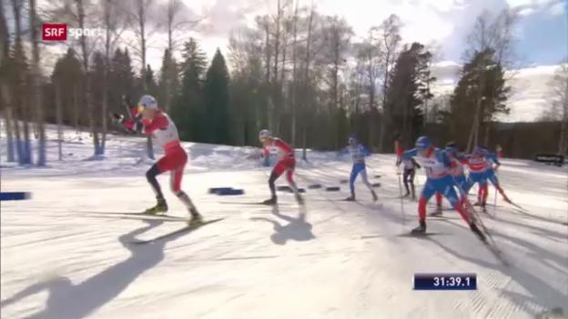 Video «Cologna wird Dritter im Gesamtweltcup («sportpanorama»)» abspielen