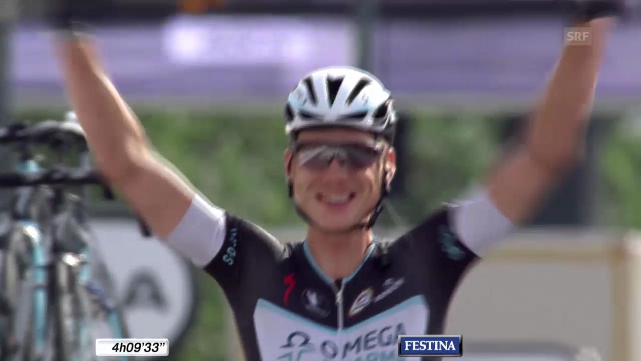 Tour de France: Schlussphase 9. Etappe