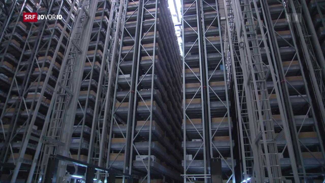 Die Schweizer Onlinehändler investieren in Logistikzentren
