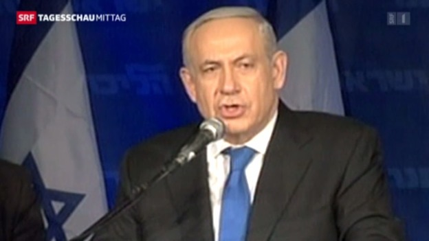 Video «Netanjahu bleibt Premier – trotz überraschenden Verlusten» abspielen