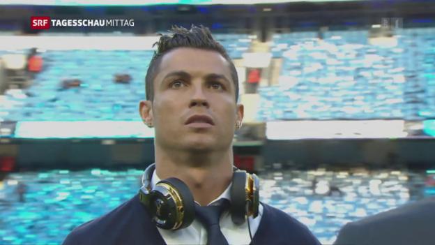 Video «Ronaldo vor Gericht» abspielen