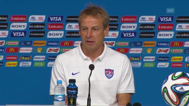 Video «Fussball: WM 2014, Vorschau USA-Deutschland» abspielen