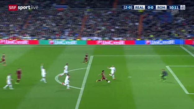 Video «Die beiden Grosschancen von Mohamed Salah» abspielen