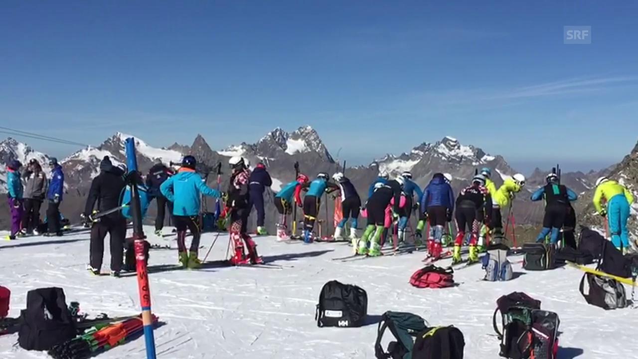 Die letzten Vorbereitungen auf die Ski-Saison laufen