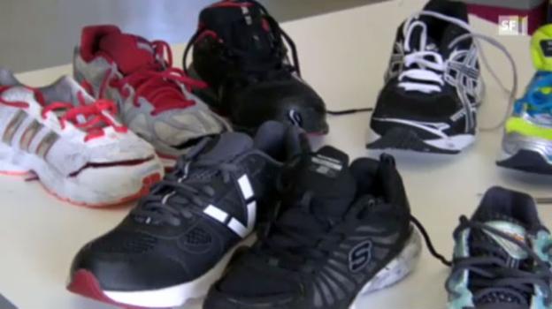 Video «Diese Laufschuhe sind zum Davonlaufen» abspielen