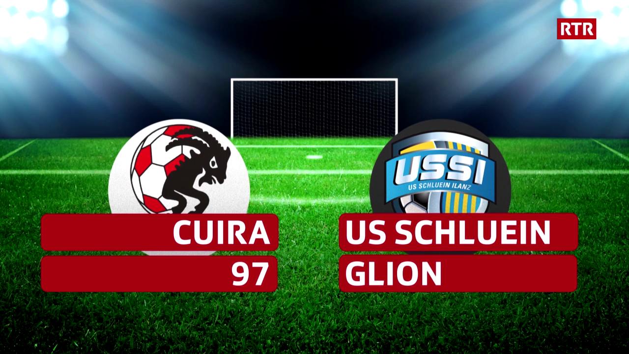 Live a las 15.45 - Cuira97 vs. US Schluein Glion