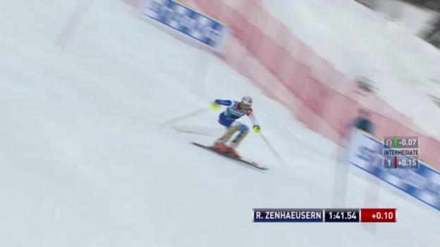 Video «Ski: 2. Lauf Ramon Zenhäusern («sportlive»)» abspielen