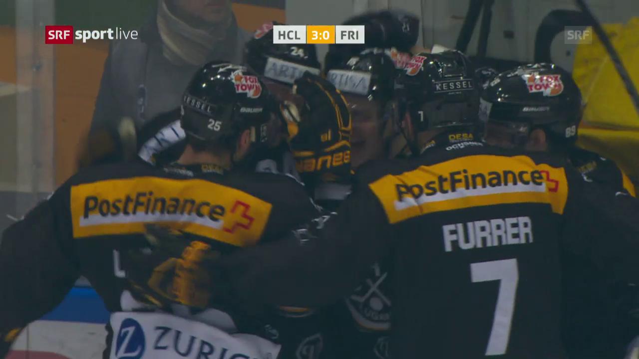 Lugano gewinnt erstes Playoff-Heimspiel gegen Freiburg