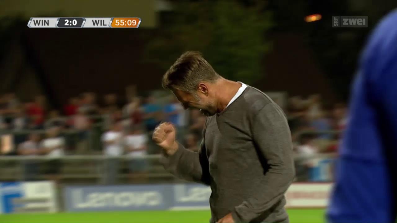 Fussball: Winterthur schlägt Wil mit 3:0