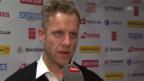 Video «Eishockey: Medienkonferenz Nationalmannschaft, Interview Reto von Arx» abspielen