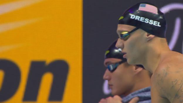 Video «WM-Gold für US-Mixed-Staffel» abspielen