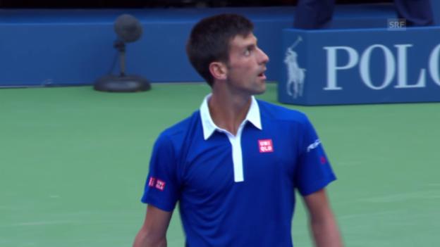 Video «Tennis: US Open, Djokovic - Souza» abspielen