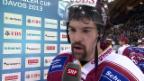 Video «Interview mit Siegschütze Daugavins («sportlive», 28.12.2013)» abspielen