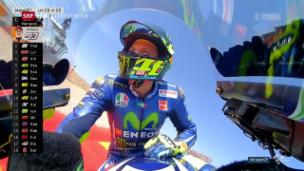 Video «Valentino Rossis schnelle Rückkehr» abspielen