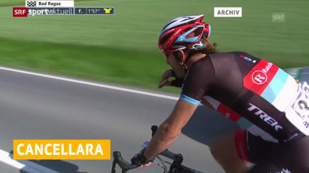Video «Kein dritter Cancellara-Sieg bei den «Strade Bianche» («sportaktuell» vom 08.03.14)» abspielen