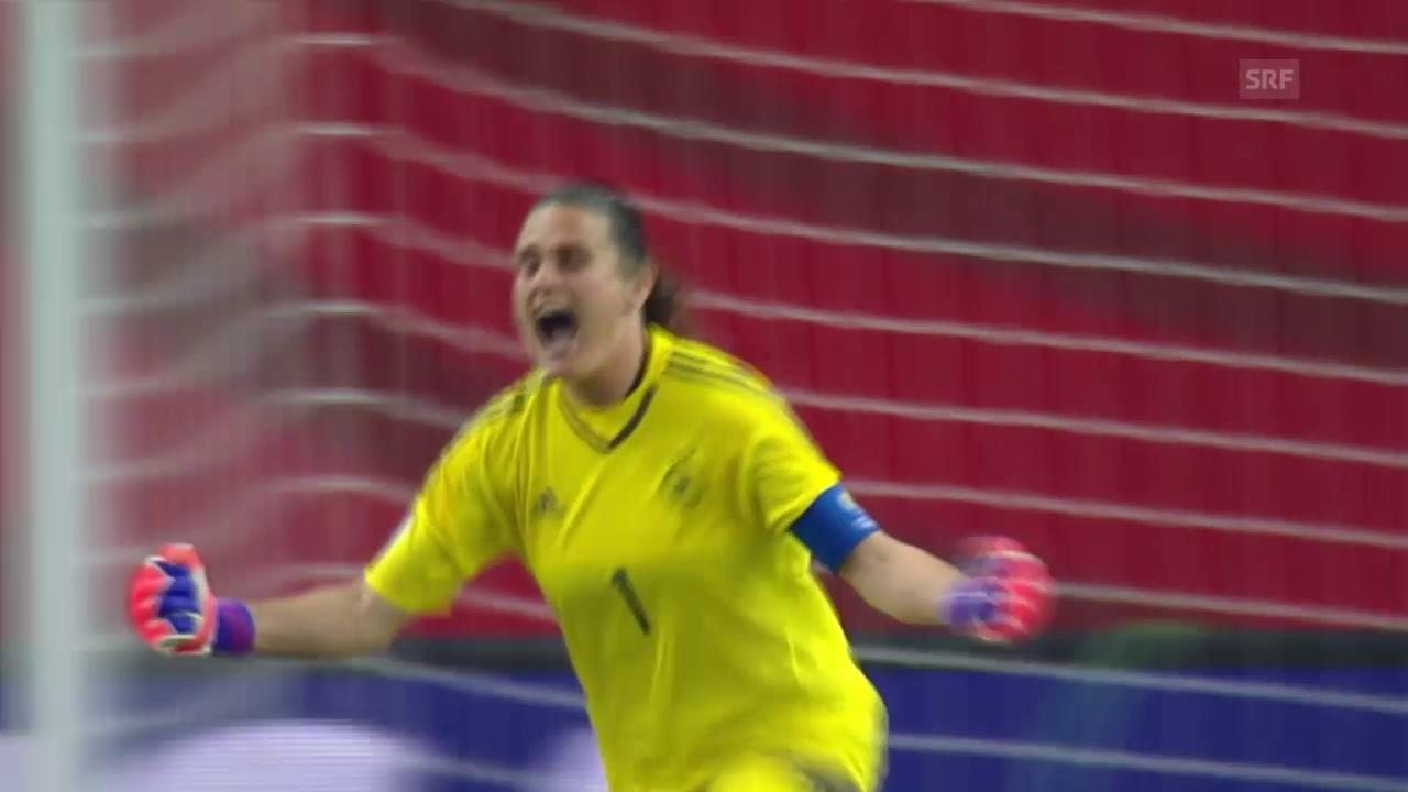 Fussball: Frauen-WM 2015, Viertelfinal, Deutschland - Frankreich