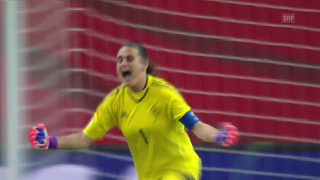 Video «Fussball: Frauen-WM 2015, Viertelfinal, Deutschland - Frankreich» abspielen