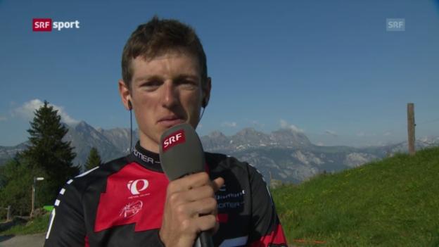Video «Rad: Interview mit Mathias Frank («sportpanorama»)» abspielen