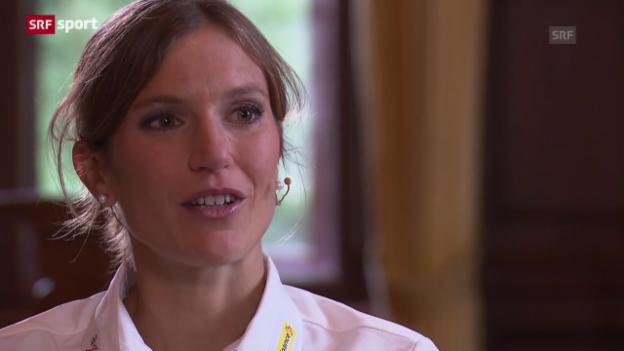 Video «Simone Niggli in der «sportlounge»» abspielen