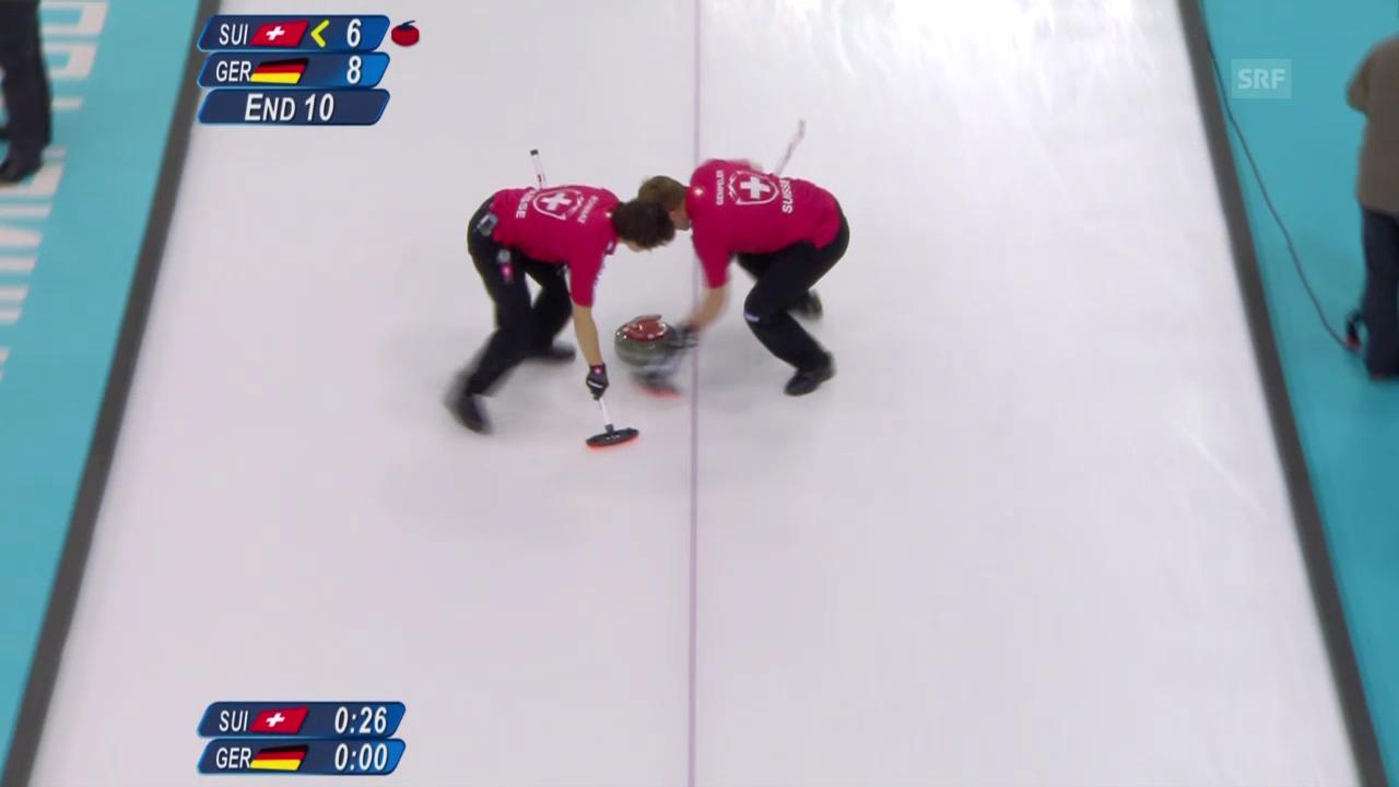 Curling: Zusammenfassung Schweiz - Deutschland (14.02.14)