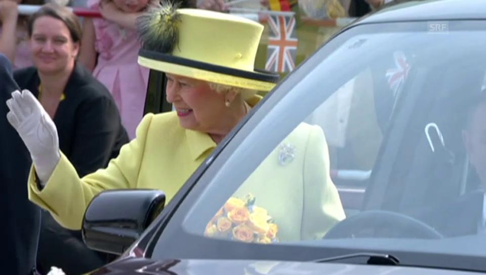 Goodbye Queen Elizabeth: Mit dem Jet zurück Nachhause