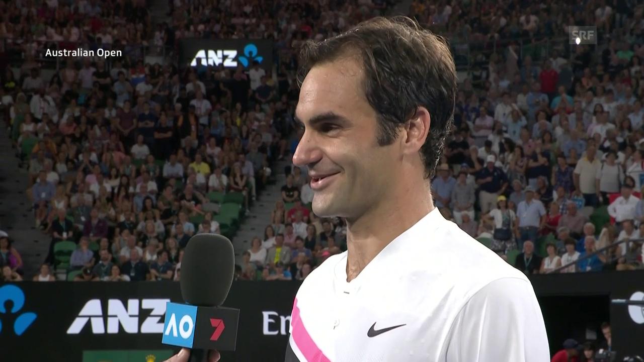 Federer über das Training mit Cilic
