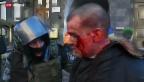 Video «Dramatischer Abend in Kiew» abspielen