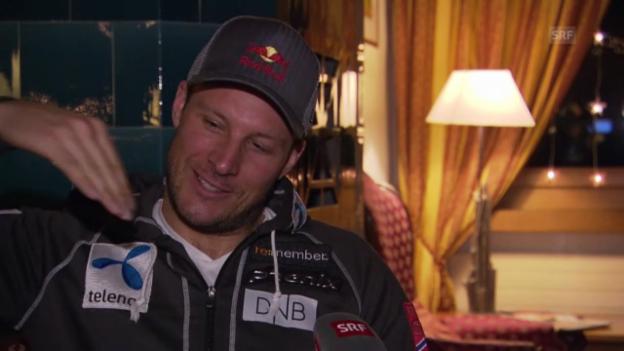 Video «Ski Alpin: Aksel Svindal über Adelboden und das Vogellisi» abspielen