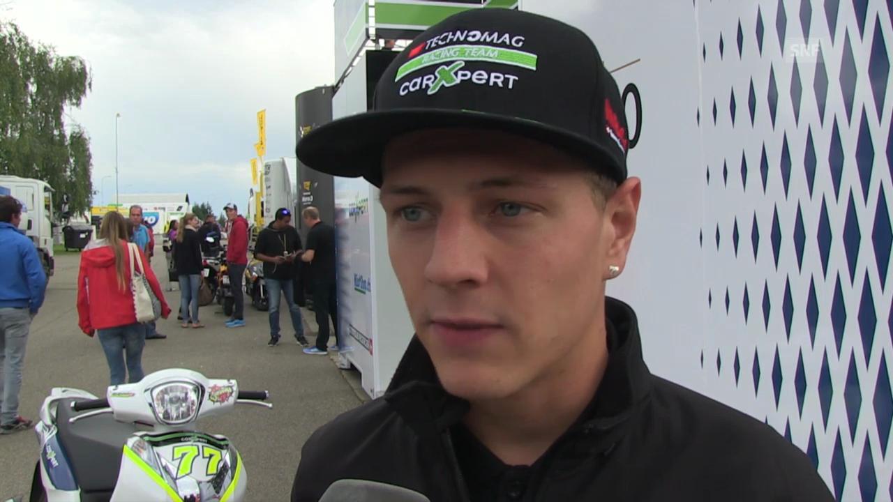 Moto2: Dominique Aegerter spricht über seine Zukunft