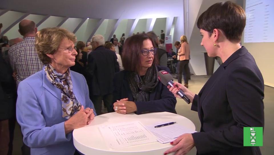 Margrith Kessler (GLP) und Yvonne Gilli (Grüne) im Interview