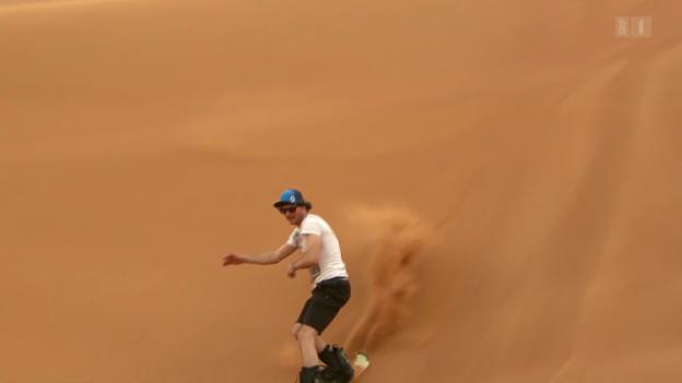 Video «Skilehrer in Dubai» abspielen