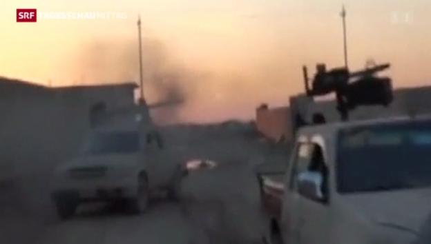 Video «Islamisten im Irak auf dem Vormarsch» abspielen