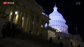 Video «Budgetstreit in den USA» abspielen