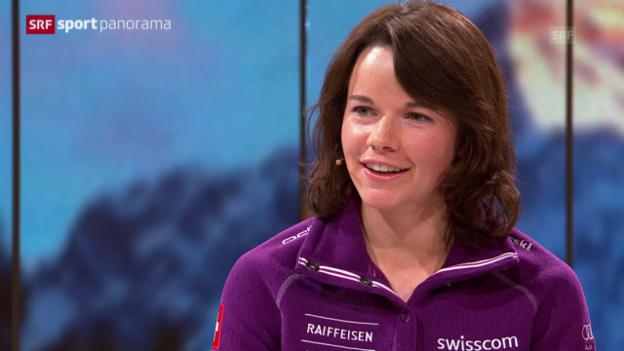 Video «Langlauf: Nathalie von Siebenthal: «Bin mit dem Langlaufen aufgewachsen»» abspielen