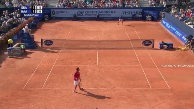 Video «Matchball von Haase gegen Granollers» abspielen