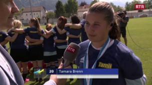 Laschar ir video «Tusaun gudogna Cuppa Grischuna – Vul trair il schlantsch en il campiunadi»
