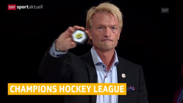 Video «Eishockey: Die Schweizer Gegner in den CHL-Achtelfinals («sportaktuell»)» abspielen