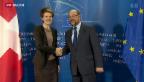 Video «FOKUS: Keine Annäherung zwischen EU und Schweiz» abspielen